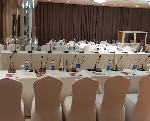 conference interpretation events at Lagos Intercontinental hotels